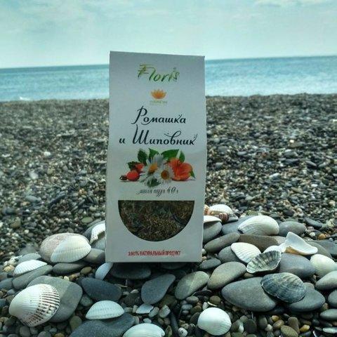 Крымский чай «Ромашка и шиповник»™Floris