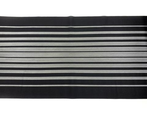 Кружево-сетка эластичное черное 24,5 см
