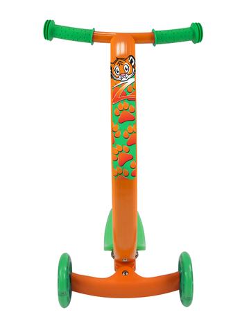 Трехколесный самокат Zycom Zipster с изогнутой ручкой и светящимися колесами