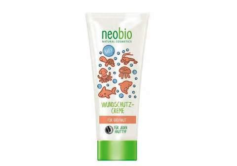 Neobio, Крем с Био-Алоэ и Био-Календулой для младенцев для защиты кожи в области пеленания, 100мл