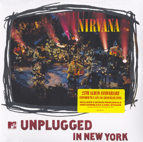Виниловая пластинка Nirvana – MTV Unplugged In New York (2LP)