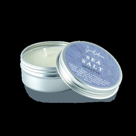SmoRodina Ароматическая свеча из соевого воска «Морская соль», 50 мл