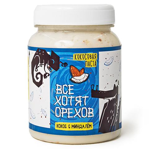 Паста Кокосовая с миндалем, 330г (Фуд сторис)