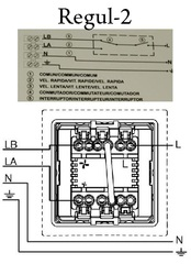 Двухскоростной регулятор скорости вентилятора / S&P