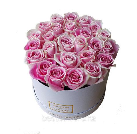 Коробка Maison Des Fleurs Розовая Венделла