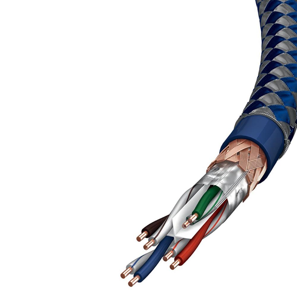 Inakustik Premium CAT6 Ethernet Cable, 0.5 m, SF-UTP, AWG 23, 004803005