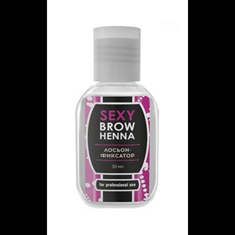 Лосьон-фиксатор цвета SEXY Brow Henna