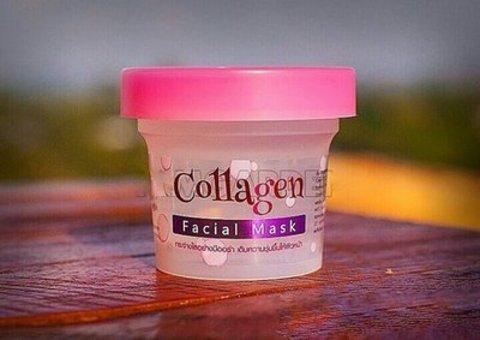 Отбеливающая маска для лица Scentio White Collagen Bright & Firm Facial Mask 100 gr