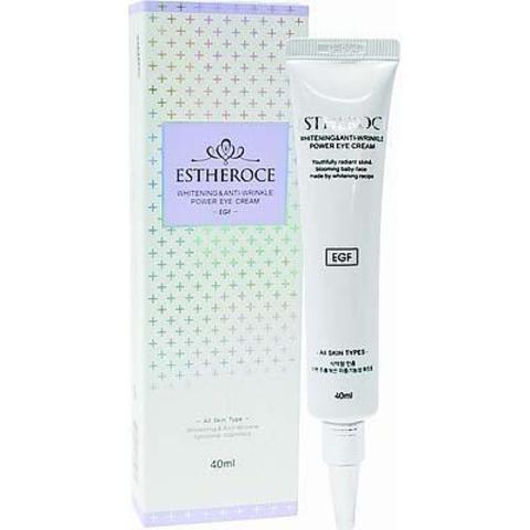 Deoproce Estheroce Whitening & Anti-Wrinkle Power Eye Cream омолаживающий крем с EGF для кожи вокруг глаз