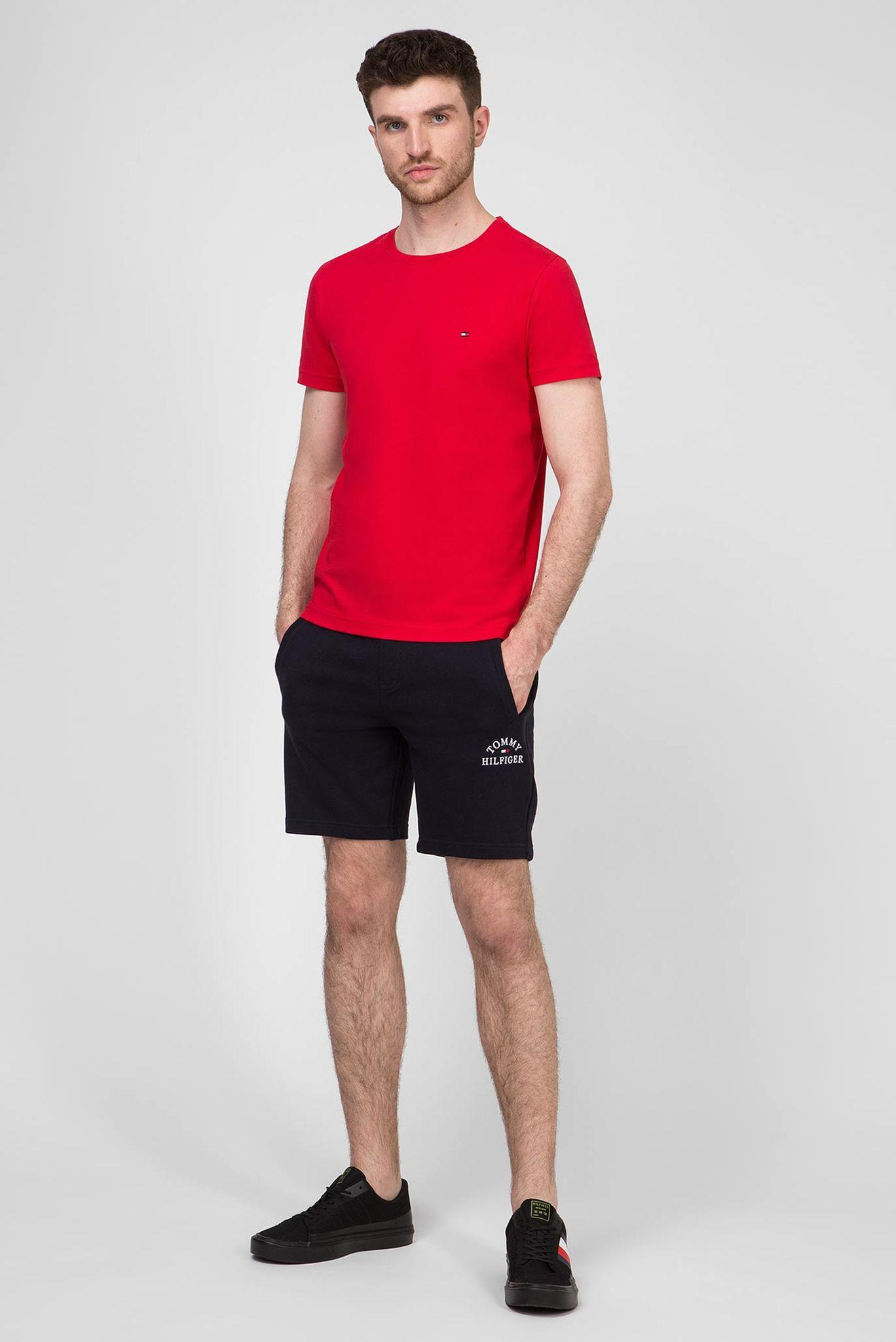Мужская красная футболка ESSENTIAL COTTON Tommy Hilfiger