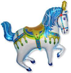 F Нарядная лошадь (синий), 39