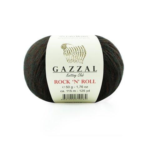 Пряжа Gazzal Rock n Roll 13189 шоколад