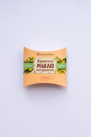 МДП Натуральное крымское мыло на оливковом масле Роза 20 гр