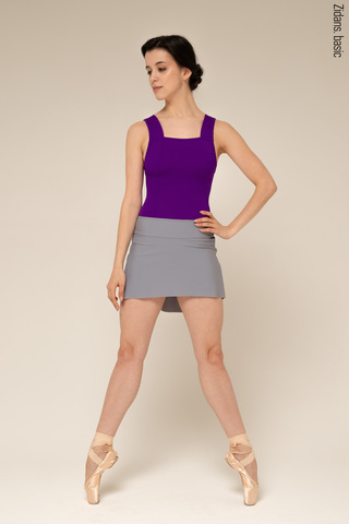 The Skirt Stretches basic | grey