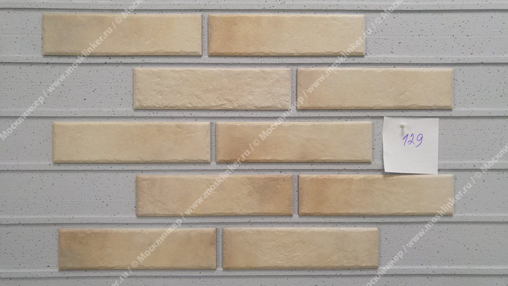 Cerrad Retro brick, Salt, 245x65x8 - Клинкерная плитка для фасада и внутренней отделки