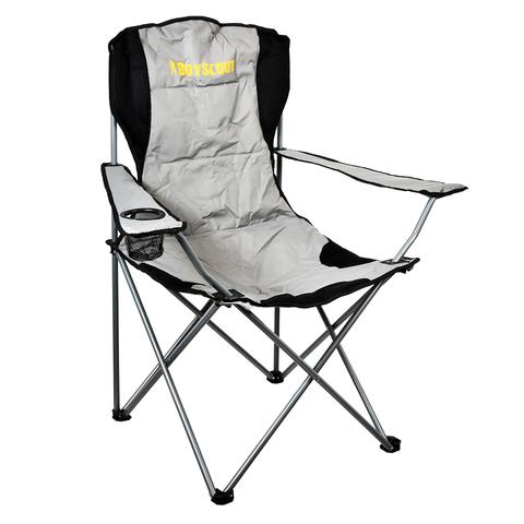Кресло кемпинговое, складное, с мягкой подложкой