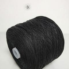 Пряжа Лён 100%, E.Miroglio, Corda, Черный, 320 м в 100 г