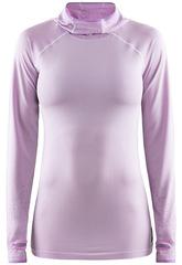 Элитная беговая рубашка Craft Core Fuseknit Pink с капюшоном женская