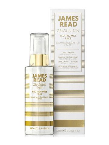 James Read Gradual Tan H2O Tan Mist Спрей для лица — освежающее сияние
