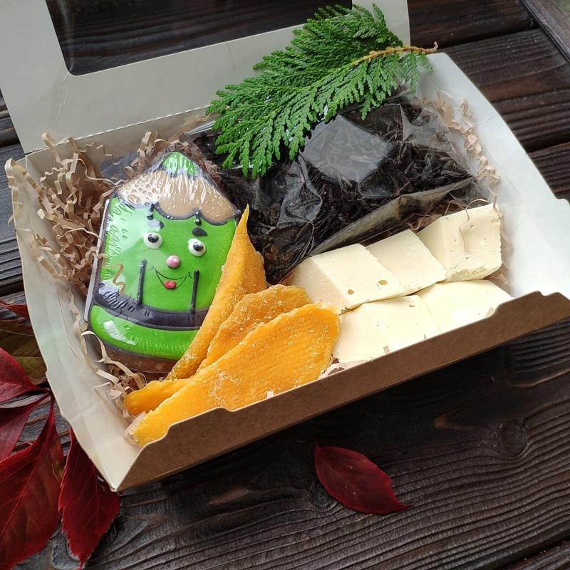 Фотография Подарочный набор «Карандаш зеленый» / 220 гр купить в магазине Афлора