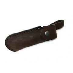 Складной нож Щука, дамасская сталь, черный граб