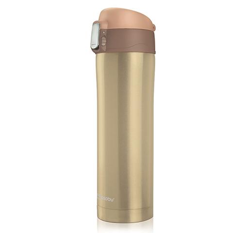 Термокружка asobu Diva cup (0,45 л) коричневая
