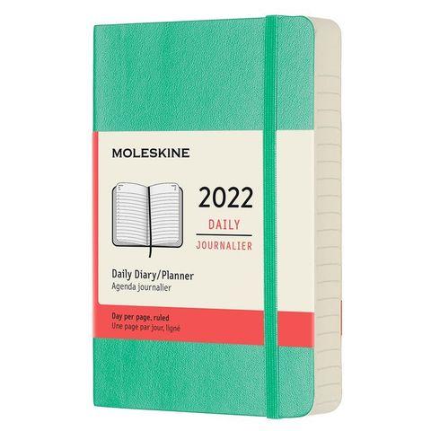 Ежедневник Moleskine (DSK4612DC2) Classic Soft Pocket 90x140мм 400стр. мягкая обложка мятный