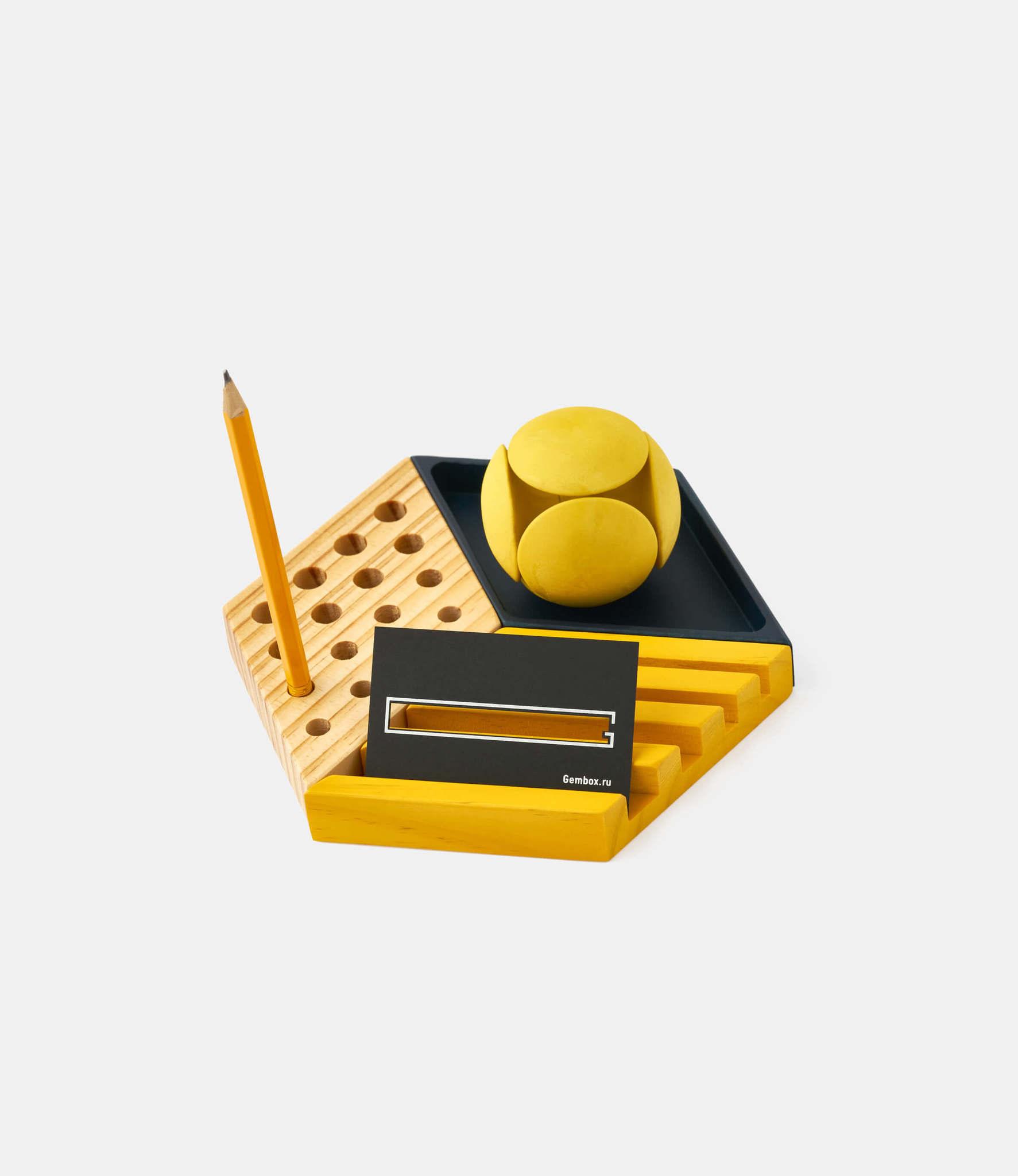 Woodendot Kesito — настольный органайзер