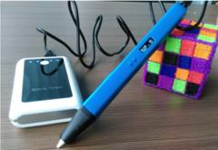 3D ручка RP800A USB с OLED дисплеем (Цвет: синий)