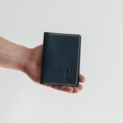 Обкладинка на паспорт KOZAK, натуральна шкіра, ручна робота