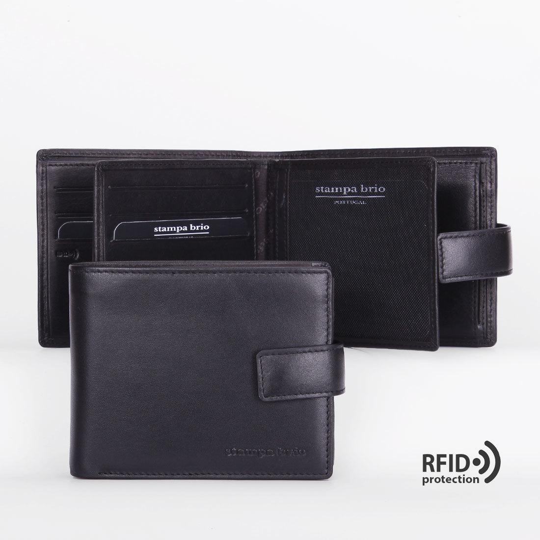 664 R - Портмоне с RFID защитой