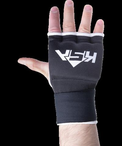 Внутренние перчатки для бокса Bull Gel Black, S