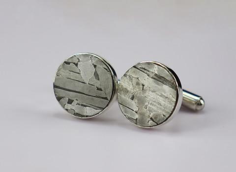 Запонки из метеорита