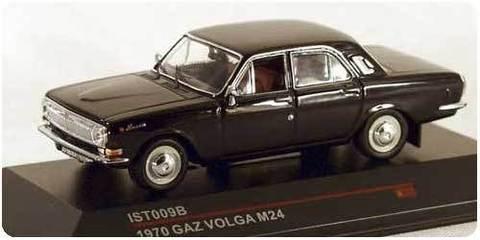 GAZ-M24 Volga black 1967 IST009B IST Models 1:43