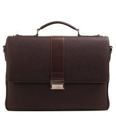м91397 Fiato  кожа коричневый  (портфель мужской)