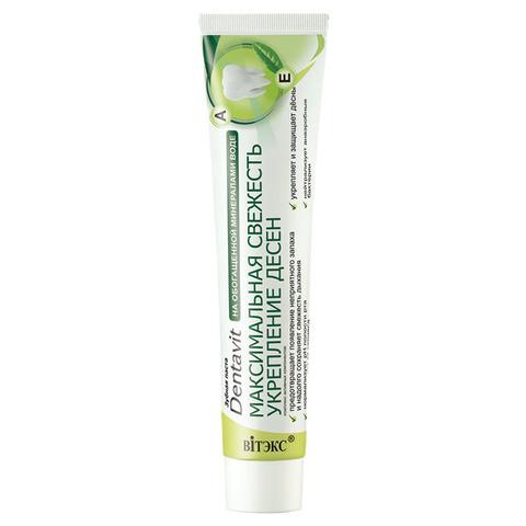 Витекс DENTAVIT Зубная паста Максимальная свежесть Укрепление десен 160