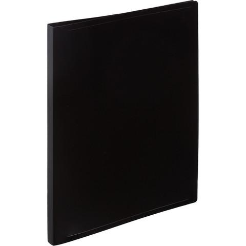 Папка с зажимом Attache Economy A4 0.4 мм черная (до 150 листов)
