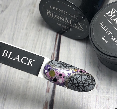 BlooMaX Stamping gel black