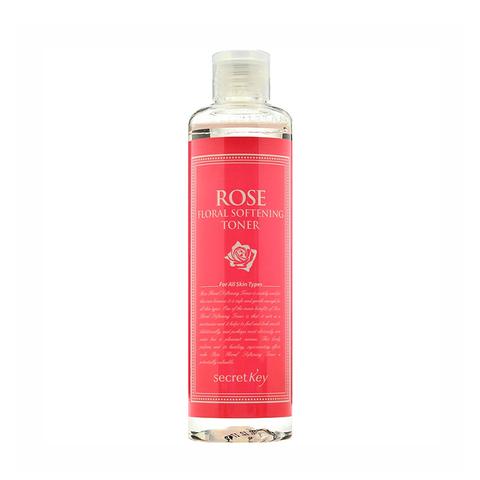 Secret Key Увлажняющий тонер с экстрактами дамасской розой ROSE FLORAL SOFTENING TONE 248 мл
