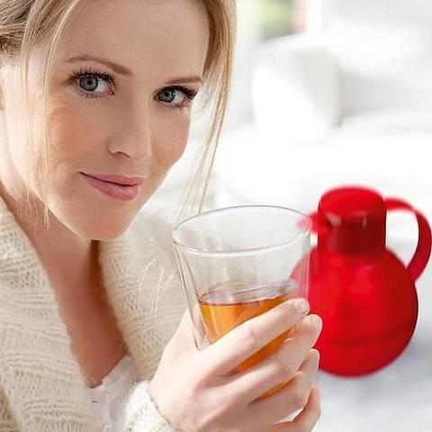 Термос-чайник заварочный Emsa Solera (1 литр), белый