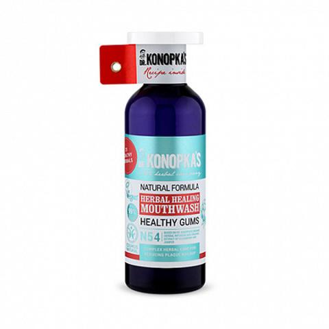 Dr.Konopka's, Натуральный травяной ополаскиватель для полости рта, 500мл