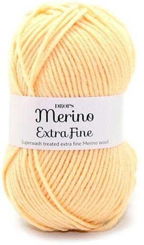 Пряжа Drops Merino Extra Fine 24 светло-желтый
