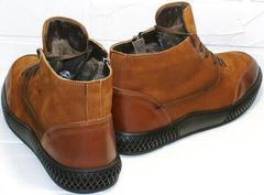 стильные мужские ботинки на зиму