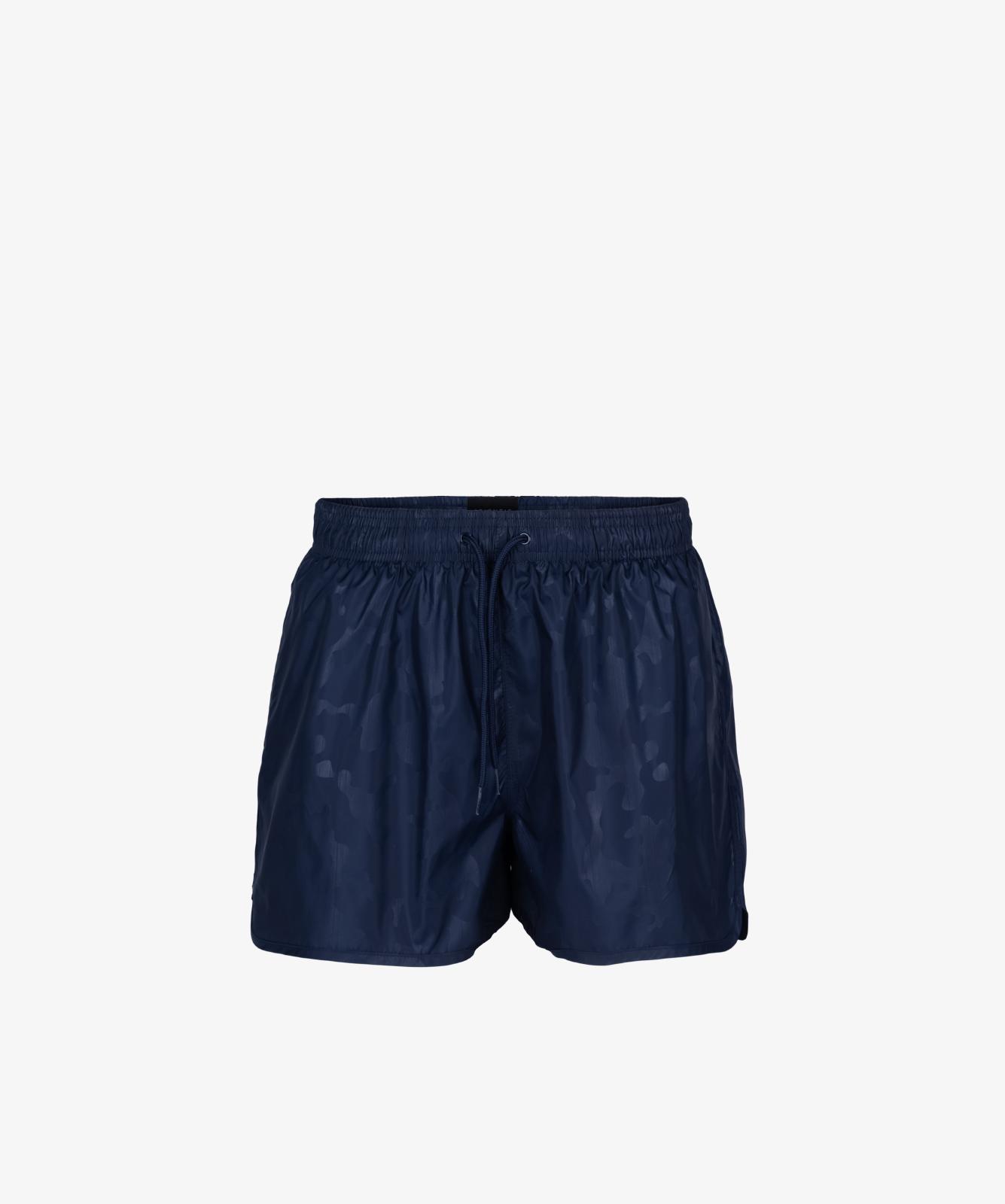 Пляжные шорты мужские Atlantic, 1 шт. в уп., полиэстер, темно-синие, KMB-198
