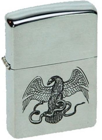 Зажигалка Zippo Eagle & snake