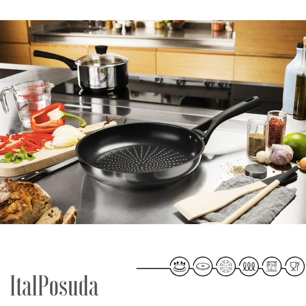 Сковорода Pyrex Expert Touch, 28 см