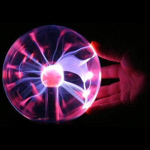Ночник Magic Flash Ball Плазменный шар Катушка тесла светильник Плазма бол Плазма шар