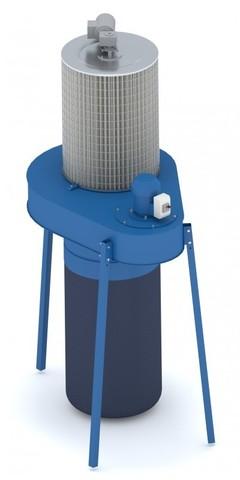 Рециркуляционный пылеулавливающий агрегат ПФЦ-1500КР