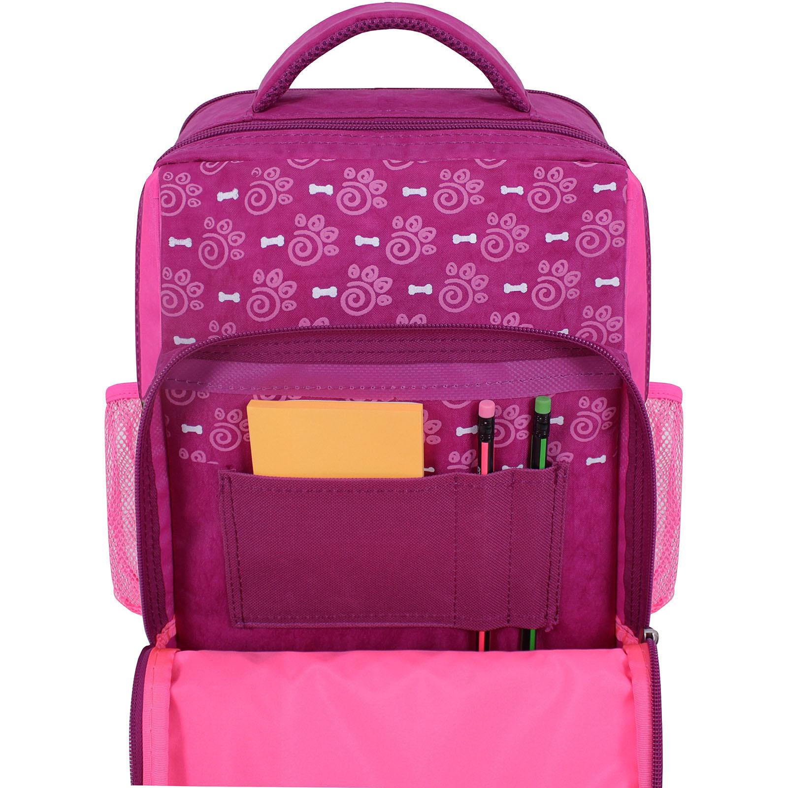 Рюкзак школьный Bagland Школьник 8 л. 143 малиновый 561 (0012870) фото 4