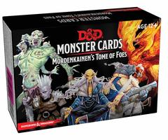 D&D Monster Cards: Mordenkainen's Tome of Foes (109 cards)